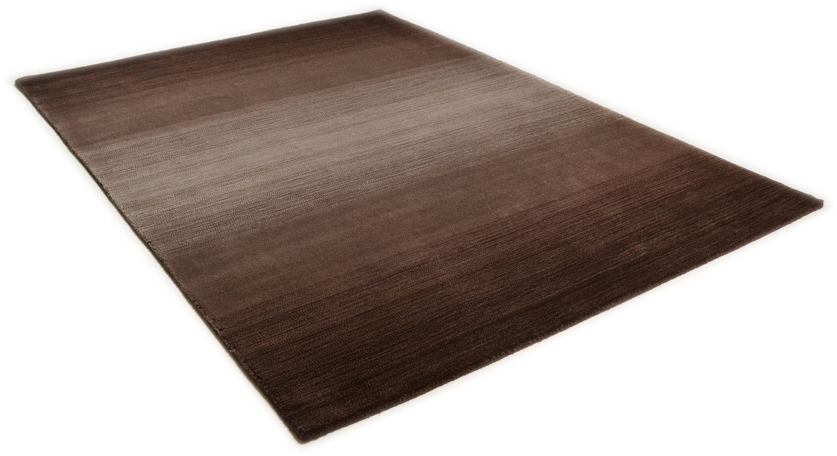 Teppich Modern Schoko Braun Teppich Sona Lux