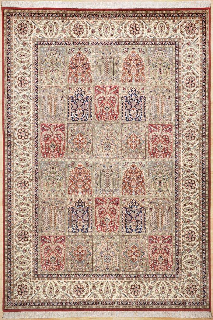 tapis oriental baktyari rouge - Tapis Oriental Rouge