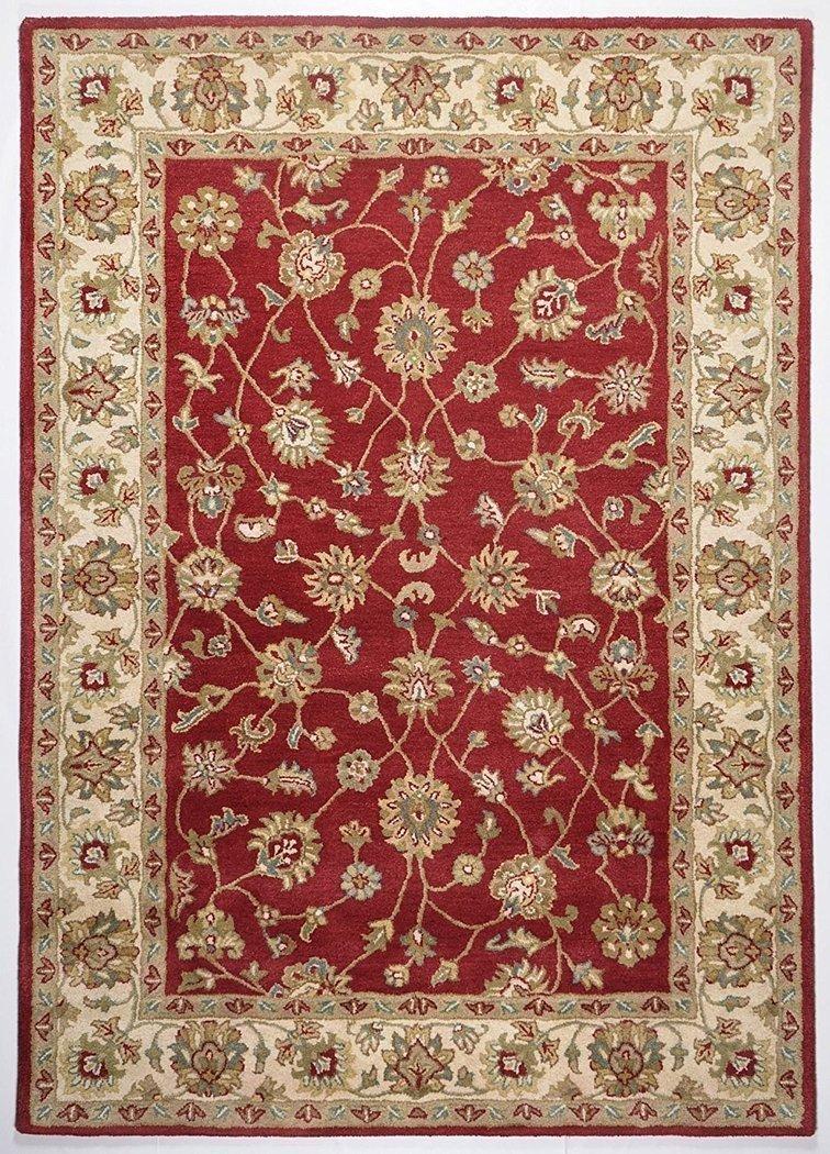 tapis oriental ziegler rouge sable - Tapis Oriental Rouge