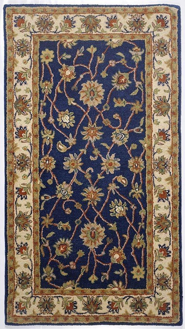 Tapis Oriental Ziegler Bleu Sable Tapis Sona Lux